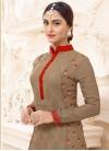 Faux Georgette Krystle Dsouza Pant Style Pakistani Salwar Kameez For Festival - 2