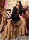 Silk Georgette  Sharara Salwar Suit For Festival - 1