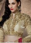 Spectacular Sequins Work Half N Half Designer Saree - 1