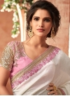 Silk Georgette Traditional Saree - 1