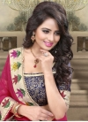 Affectionate Beads Work Party Wear Saree - 1