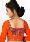 Impressive Embroidered Work Classic Saree For Festival - 1