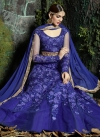 Net Aari Work Long Length Designer Suit - 1