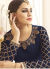 Silk Trendy Kalidar Salwar Suit For Ceremonial - 1