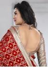 Intricate Beads Work  Trendy Classic Saree - 2