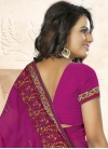 Intriguing Faux Georgette Classic Saree - 1