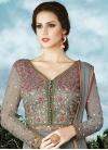 Embroidered Work Layered Designer Salwar Suit - 1