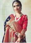 Jacquard Silk Trendy Saree - 1