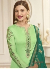 Embroidered Work Gauhar Khan Pakistani Salwar Kameez - 1