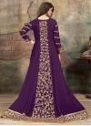Faux Georgette Trendy Anarkali Salwar Kameez - 1