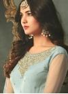 Embroidered Work Pant Style Designer Salwar Kameez - 1