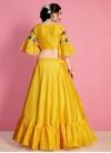 Resham Work Art Silk Designer Classic Lehenga Choli - 2