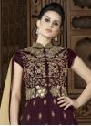 Beads Work Silk Kameez Style Lehenga Choli - 1