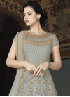 Net Embroidered Work Long Length Designer Anarkali Suit - 2