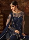 Net Beads Work Sharara Salwar Kameez - 2