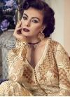 Banglori Silk Embroidered Work Pant Style Designer Salwar Kameez - 1