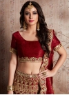 Trendy A Line Lehenga Choli For Bridal - 2