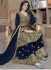 Palazzo Designer Salwar Suit For Ceremonial - 1