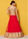 Lace Work Trendy A Line Lehenga Choli - 2