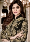 Shamita Shetty Faux Georgette Trendy Designer Salwar Kameez - 1