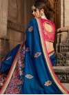 Embroidered Work Trendy Saree - 1