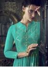 Art Silk Readymade Floor Length Gown For Festival - 1