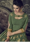 Art Silk Readymade Classic Gown For Festival - 1