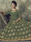 Art Silk Readymade Classic Gown For Festival - 2