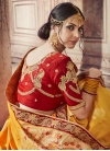 Embroidered Work Banarasi Silk Trendy Saree - 2
