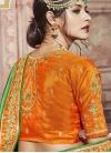 Embroidered Work Banarasi Silk Contemporary Style Saree - 2