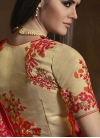 Embroidered Work Trendy Classic Saree For Festival - 2