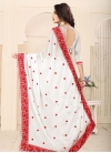 Faux Georgette Embroidered Work Classic Saree - 2