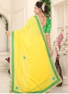 Lace Work Trendy Classic Saree - 2