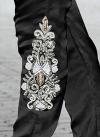 Distinguishable Net Booti Work Pant Style Classic Salwar Suit - 1
