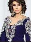 Distinguishable Net Pant Style Salwar Kameez - 2