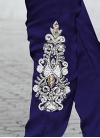 Distinguishable Net Pant Style Salwar Kameez - 1