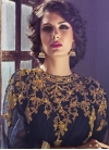 Amusing Gold Zardosi Work Long Length Designer Suit - 2