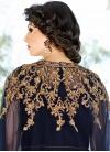 Amusing Gold Zardosi Work Long Length Designer Suit - 1