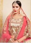 Satin Silk Booti Work Designer Lehenga Choli - 2
