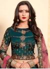 Satin Silk Trendy Lehenga For Festival - 1