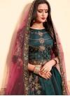 Satin Silk Trendy Lehenga For Festival - 2