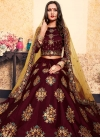 Embroidered Work Trendy A Line Lehenga Choli - 2