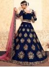 Satin Silk Designer A Line Lehenga Choli For Festival - 1