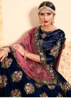 Satin Silk Designer A Line Lehenga Choli For Festival - 2