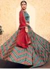 Embroidered Work Satin Silk Trendy Lehenga Choli - 1