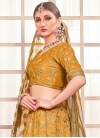 Embroidered Work A Line Lehenga Choli For Party - 2