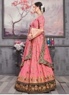 Embroidered Work Art Silk Trendy Lehenga - 1
