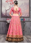 Embroidered Work Art Silk Trendy Lehenga - 2