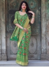 Thread Work Designer Contemporary Saree - 1