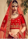 Embroidered Work Designer A Line Lehenga Choli - 1